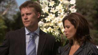 Oliver Barnes, Rebecca Napier in Neighbours Episode 5492
