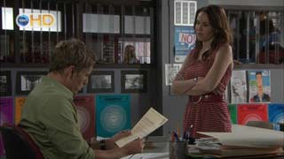 Dan Fitzgerald, Libby Kennedy in Neighbours Episode 5496