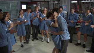 Rachel Kinski, Zeke Kinski, Ringo Brown, Donna Freedman, Bridget Parker, Declan Napier in Neighbours Episode 5496