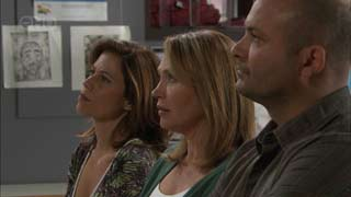 Rebecca Napier, Miranda Parker, Steve Parker in Neighbours Episode 5496
