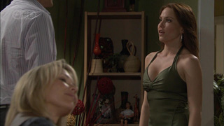 Dan Fitzgerald, Steph Scully, Libby Kennedy in Neighbours Episode 5503