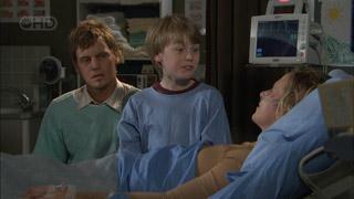 Ned Parker, Mickey Gannon, Kirsten Gannon in Neighbours Episode 5505