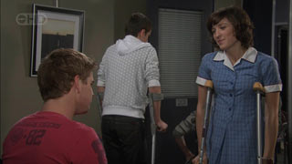 Josh Taylor, Bridget Parker in Neighbours Episode 5511