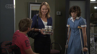 Josh Taylor, Miranda Parker, Bridget Parker in Neighbours Episode 5511