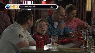 Toadie Rebecchi, Callum Jones, Steve Parker, Dan Fitzgerald in Neighbours Episode 5512