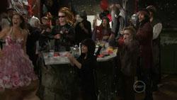 Rebecca Napier, Ringo Brown, Ben Kirk, Callum Jones, Ty Harper in Neighbours Episode 5514