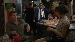 Josh Taylor, Declan Napier, Bridget Parker in Neighbours Episode 5515
