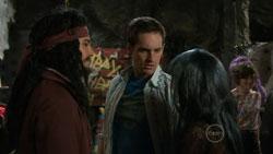 Ty Harper, Angus Henderson, Rachel Kinski, Bridget Parker in Neighbours Episode 5515