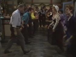 Harold Bishop, Paul Robinson, Madge Bishop, Gail Robinson in Neighbours Episode 0637