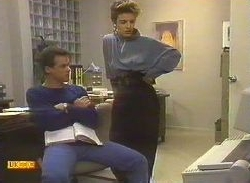 Paul Robinson, Gail Robinson in Neighbours Episode 0767