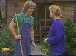 Henry Ramsay, Bronwyn Davies in Neighbours Episode 0767