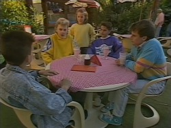 Todd Landers, Barry Salter, Katie Landers in Neighbours Episode 0772