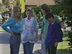 Jane Harris, Bronwyn Davies, Henry Ramsay, Todd Landers in Neighbours Episode 0855