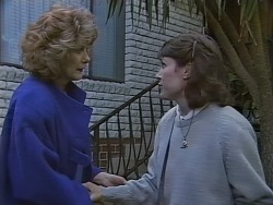 Madge Bishop, Beverly Robinson in Neighbours Episode 0855