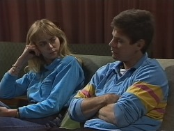 Jane Harris, Joe Mangel in Neighbours Episode 0855