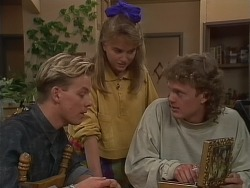 Scott Robinson, Bronwyn Davies, Henry Ramsay in Neighbours Episode 0891