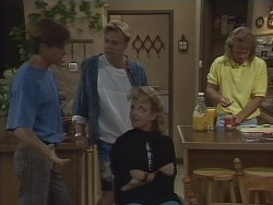 Mike Young, Scott Robinson, Jenny Owens, Henry Ramsay in Neighbours Episode 0925