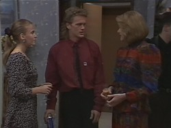 Bronwyn Davies, Henry Ramsay, Madge Bishop in Neighbours Episode 1000