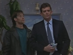 Mike Young, Des Clarke in Neighbours Episode 1000