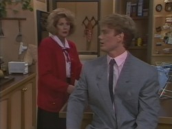 Madge Bishop, Henry Ramsay in Neighbours Episode 1041