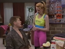 Clive Gibbons, Melanie Pearson in Neighbours Episode 1076