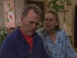 Harold Bishop, Bronwyn Davies in Neighbours Episode 1076