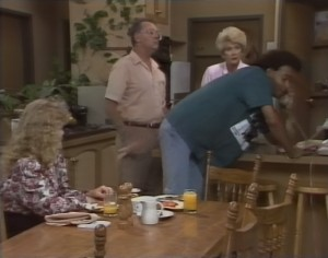Sharon Davies, Harold Bishop, Madge Bishop, Eddie Buckingham in Neighbours Episode 1182