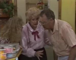 Sharon Davies, Madge Bishop, Harold Bishop in Neighbours Episode 1182