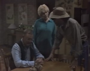 Harold Bishop, Madge Bishop, Eddie Buckingham in Neighbours Episode 1265