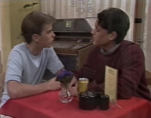 Todd Landers, Josh Anderson in Neighbours Episode 1333