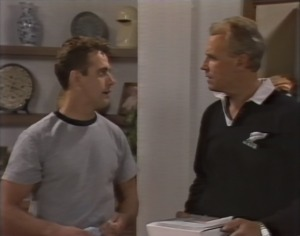 Glen Donnelly, Jim Robinson in Neighbours Episode 1403