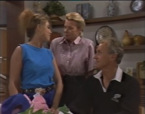 Lucy Robinson, Helen Daniels, Jim Robinson in Neighbours Episode 1403