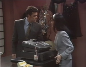 Paul Robinson, Caroline Alessi in Neighbours Episode 1599
