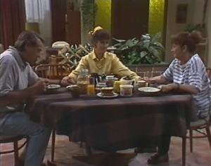 Doug Willis, Faye Hudson, Pam Willis in Neighbours Episode 1599