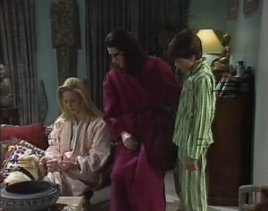Phoebe Bright, Dorothy Burke, Toby Mangel in Neighbours Episode 1722