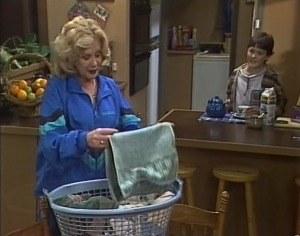 Madge Bishop, Toby Mangel in Neighbours Episode 1722