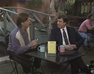 Cameron Hudson, Percy Slade in Neighbours Episode 1816