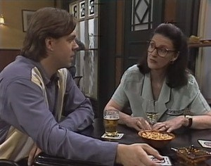 Cameron Hudson, Dorothy Burke in Neighbours Episode 1816