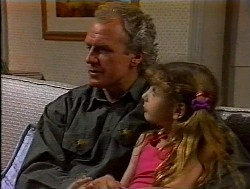 Jim Robinson, Hannah Martin in Neighbours Episode 1849