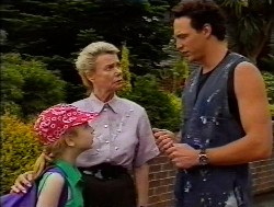Hannah Martin, Helen Daniels, Stephen Gottlieb in Neighbours Episode 1849