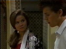 Julie Martin, Michael Martin in Neighbours Episode 1849