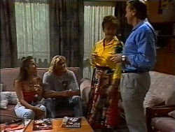 Beth Brennan, Brad Willis, Pam Willis, Doug Willis in Neighbours Episode 1849