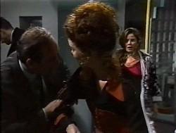 Jack Howard, Philip Martin, Gaby Willis, Julie Martin in Neighbours Episode 1849