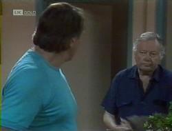Doug Willis, Bert Willis in Neighbours Episode 1855