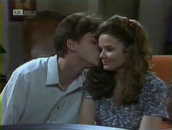 Michael Martin, Julie Robinson in Neighbours Episode 1855