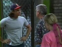 Wayne Duncan, Lou Carpenter, Lauren Turner in Neighbours Episode 1855