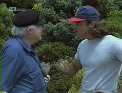 Wayne Duncan, Bert Willis in Neighbours Episode 1855