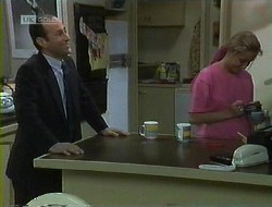 Benito Alessi, Lauren Turner in Neighbours Episode 1855