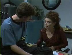 Michael Martin, Gaby Willis in Neighbours Episode 1855