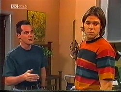 Russell Butler, Cameron Hudson in Neighbours Episode 1890